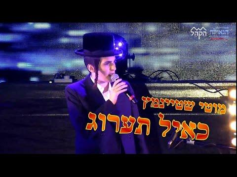 כאייל תערוג • הזמר מוטי שטיינמץ מנגן יחד עם הקהל: לצפייה