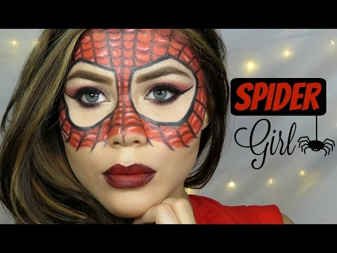Download Video SPIDER WOMAN - MAKE UP TUTORIAL - HALLOWEEN  - Cristina Vives♡