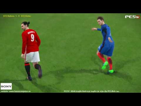 PES 2017 | [ST]Skyboss (FRA) vs [ST]Vietto (MUN) | PES Random Cup 2016 | Group 5