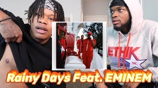 Boogie - Rainy Days (Feat. EMINEM) - REACTION