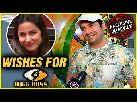 Ex Bigg Boss Contestant Karan Mehra Wishes For Hin
