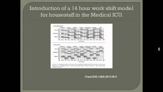 Internal Medicine Grand Rounds: 2011 ACGME Duty Hours Standards - How They Impact Us