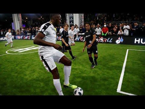 Usain Bolt trainiert in Dortmund mit: