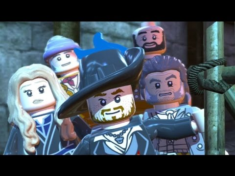 LEGO Pirates of the Caribbean - 100% Guide #11 - Singapore (All Collectibles) (видео)