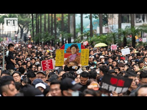 Hong Kong: Two million march in peaceful protest