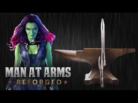 Blacksmiths Recreate Gamora s Godslayer Sword from Guardians Of The