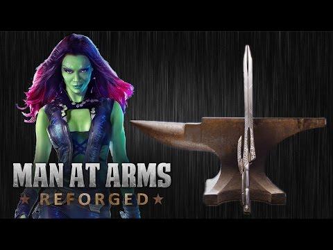 Blacksmiths Recreate Gamora s Godslayer Sword from Guardians Of The