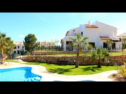 Недорогие дома в Испании/Недвижимость в Бенидорме от застройщика/Sierra Cortina/Таунхаус/Финестрат