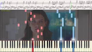 Rosemary's piano theme (The Giver) Marco Beltrami (Ноты и Видеоурок для фортепиано) (piano cover)