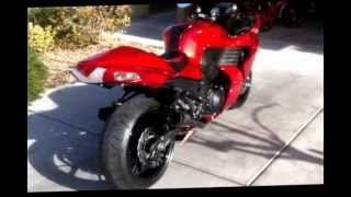 4. 2010 Kawasaki Ninja ZX14, Blood Red Hayabusa Killer!