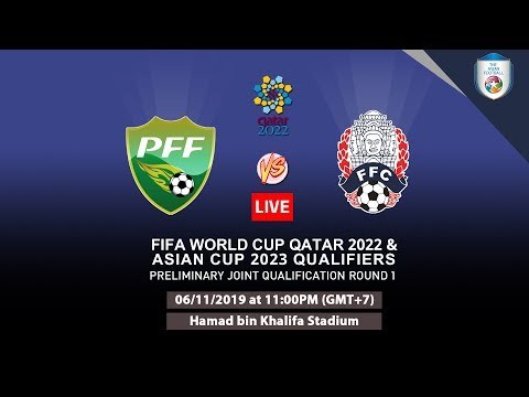 FIFA World Cup Qualifiers: Pakistan Vs Cambodia Livestream
