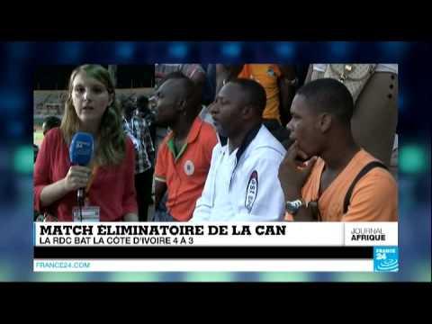 Cote - Abonnez-vous à notre chaîne sur YouTube : http://f24.my/youtube FOOTBALL - Match incroyable à Abidjan. La République Démocratique du Congo a battu la Côte d'Ivoire au terme d'un match...