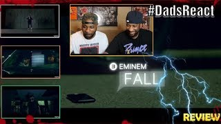 Video DADS REACT   EMINEM x FALL VIDEO   REACTION & BREAKDOWN   WE KNOW WHO'S CHASING HIM !!! MP3, 3GP, MP4, WEBM, AVI, FLV Januari 2019
