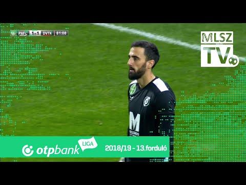 13. forduló: PAFC - DVTK 2-1 (0-0)