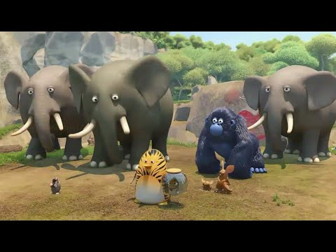 The jungle bunch in hindi S2 🐁🐁episode 12 Mammoths rule!