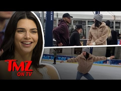 Kendall Jenner's Displays Ice Skating Moves While On A Date | TMZ TV