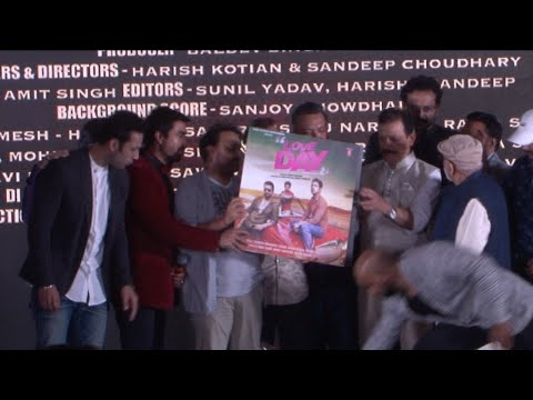 Music Launch Of Film Love Day With Ajaz Khan