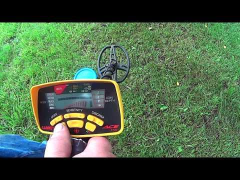 Testing Garrett Ace 350 Metal Detector