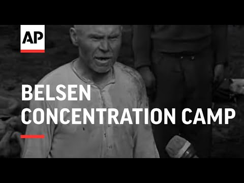 Bergen-Belsen concentration camp (30 Apr 1945, Britis ...