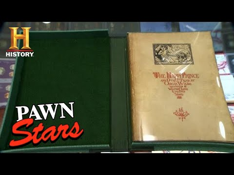 Pawn Stars: WILDLY RARE Oscar Wilde First Edition (Season 11) | History