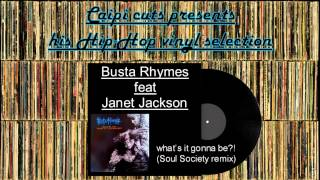Busta Rhymes feat Janet Jackson - what's it gonna be?! (Soul Society remix) (1999)