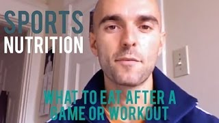 Sports Nutrition Tips YouTube video