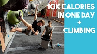 10K CALORIE CHALLENGE + CLIMBING - Worst Experience Ever? by Eric Karlsson Bouldering