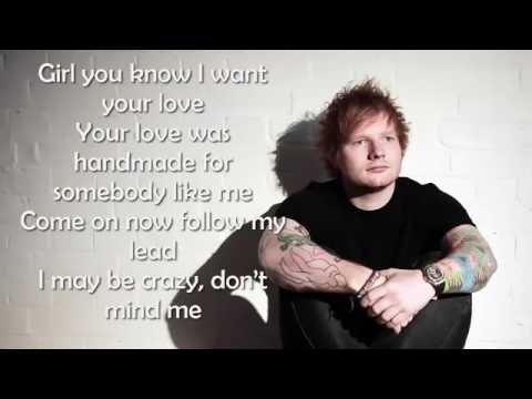 Video Ed Sheeran   Shape of you Lyrics download in MP3, 3GP, MP4, WEBM, AVI, FLV January 2017