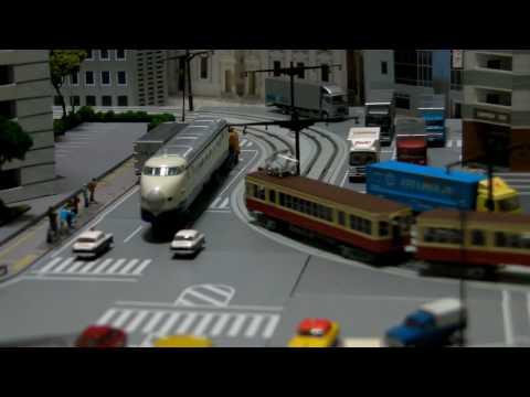 鉄道模型 富山ライトレールを東京ライトレールに?