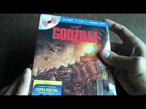 Godzilla (2014) Bluray MetalPak Edition Unboxing en Español