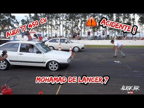 BATIDA DE CARRO NO ARRANCADÃO DO AUTODROMO