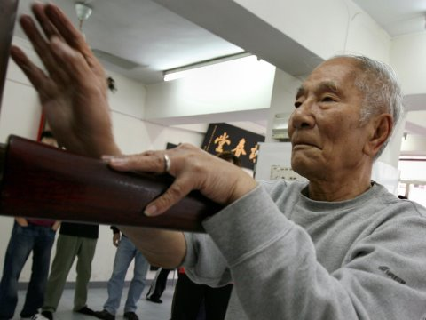 ip - http://www.scmp.com/video Following the success of this year's action blockbuster Ip Man, biopic of the legendary Wing Chun grandmaster and mentor to Bruce L...