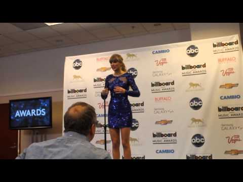 at Billboard Music Awards press room