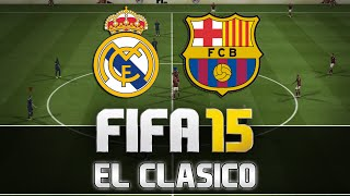 Video Fifa 15 | Real Madrid vs. FC Barcelona - El Clasico | FULL Gameplay | by PatrickHDxGaming MP3, 3GP, MP4, WEBM, AVI, FLV Desember 2017