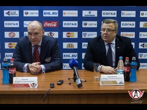 Автомобилист 3:2 (ОТ) Салават Юлаев: Пресс-конференция
