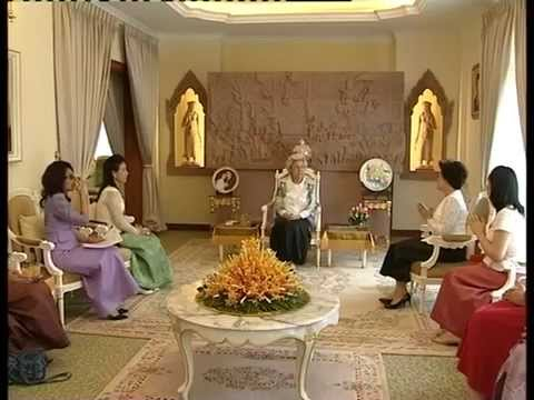 CWEA 2nd Mandate Courtesy Visit King Mother of Cambodia