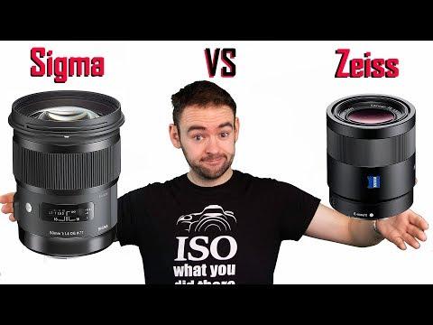 Sigma VS Zeiss - 50mm f1.4 Art vs 55mm f1.8
