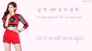 TWICE – Like OOH-AHH (OOH-AHH하게) [HAN ROM ENG Color Coded Lyrics]