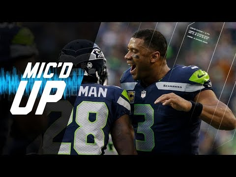 Video: Russell Wilson Mic'd Up vs. Colts