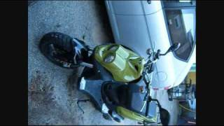 2. 110 cc  two stroke green monster  the Hulk   110cc rattler