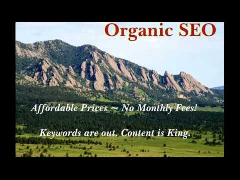 video:Organic SEO easy search engine optimization tips tricks marketing services denver co