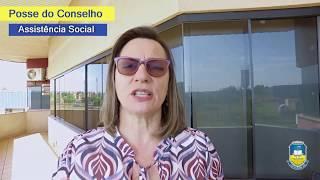 Prefeita dá posse a membros do Conselho da Assistência Social