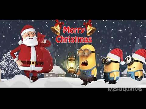 minion santa claus wishing merry christmas - Merry Christmas Minion