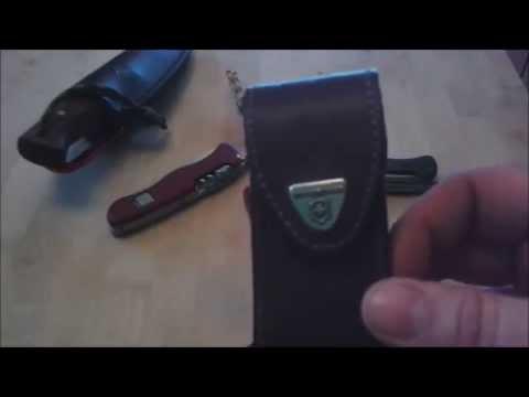 Victorinox Messer Zubehör ( Ledertasche)