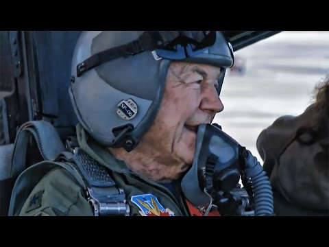 Eighty-Nine Year Old Chuck Yeager • F-15 Eagle Honor Flight