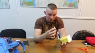 Фонарь на 400 люмен со встроенным зарядным устройством и аккумулятором  10800 мА/ч. Fire-Maple CUBE QUICK