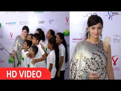 Divya Khosla Kumar At Virat Kohli Foundation & Smile Foundation Host Star Studded Grand Charity Gala Dinner