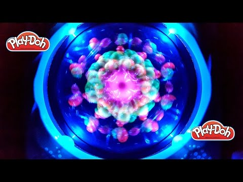 Play Doh Creations 3D Flash Art Lights Up