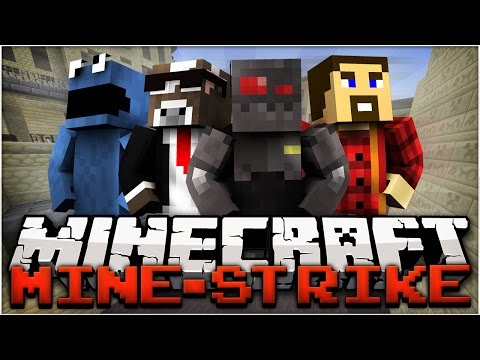 mini - Minecraft Mine Strike is a mini-game that replicates Counter Strike Global Offensive, where there are multiple rounds and the first team to score 10 victories wins. Rusher: http://youtube.com/TheC...