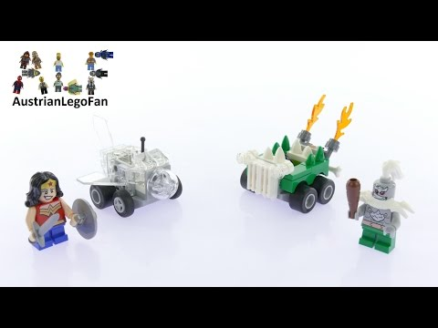 Vidéo LEGO DC Comics Super Heroes 76070 : Mighty Micros : Wonder Woman contre Doomsday